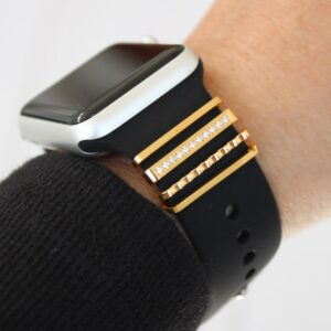 Stackable Jewelry for Apple Watch Bands